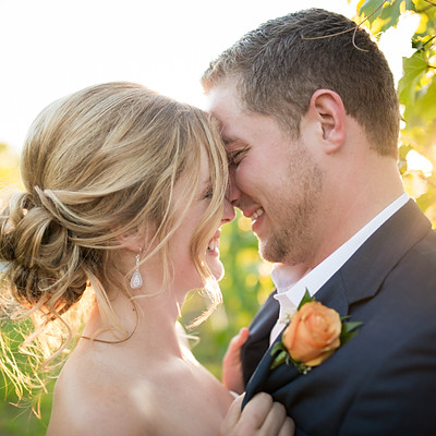 Glamorous Vineyard Wedding