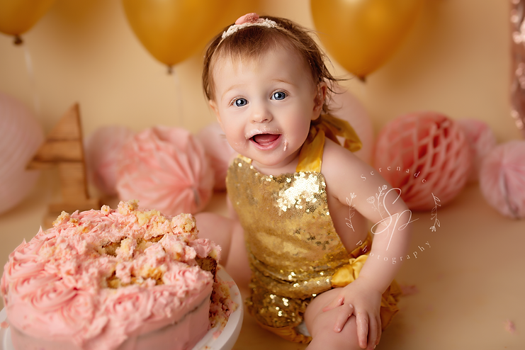 cake smash chester baby session cheshire