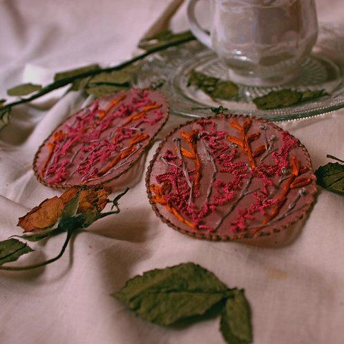 Lata Abstract Foliage Earrings