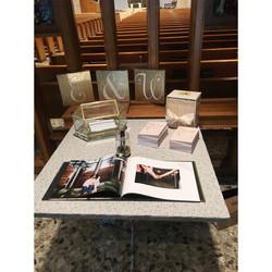 Brown Wedding Ceremony Table