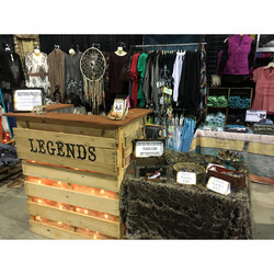 Legends Stock Show Booth..