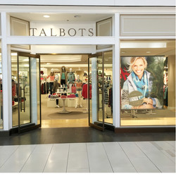 Talbots Holiday Windows