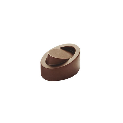 Pavoni Praline Mould, PC10 32x23x19mm - 21 Cavity