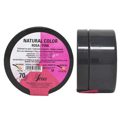 Sosa 70g Pink Water soluble Colouring Powder