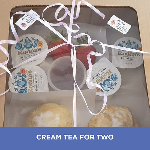 Devon Cream Tea for 2