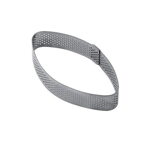 Micro-perforated Sharp Oval Steel Band. XF11