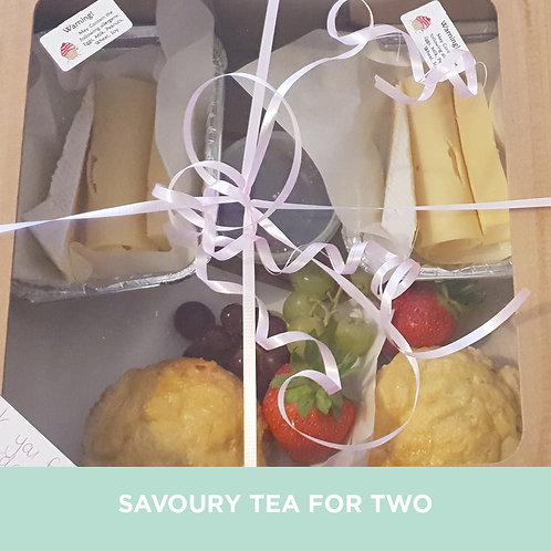 Savoury Tea for 2