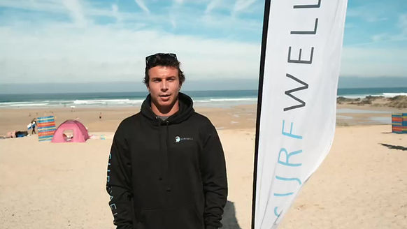 Luke Dillion, English National Surfing Champion