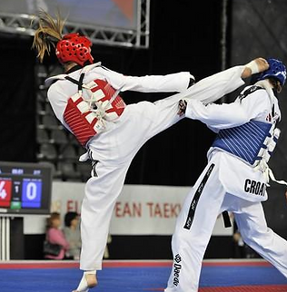 Marlene Harnois en combat