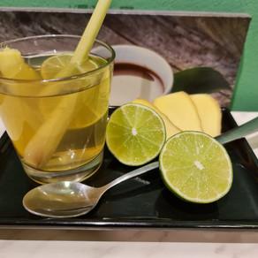 Lemon Juice with Lemongrass and Honey