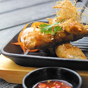 (GA NUONG SA TE) Vietnamese Chicken Skewers