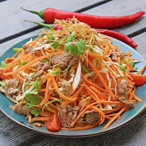 (Goi Bo) Vietnamese Beef Salad.