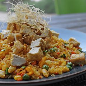 (COM CHIEN CHAY) Vegan Fried Rice