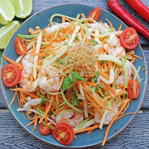 (Goi Xoai) Vietnamese mango salad.
