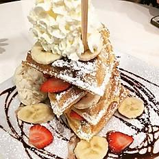 Nutella Waffle Tower