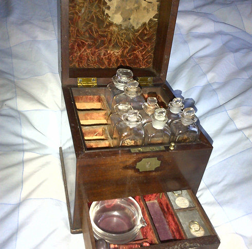 Early 18th Century Apothecary Box