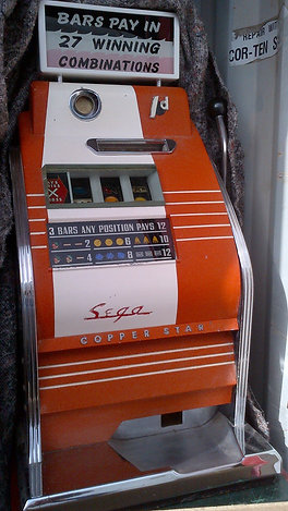 Sega Copper Star One Arm Bandit 1962