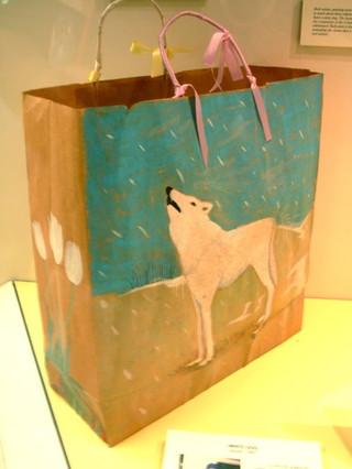 White Dog Bag