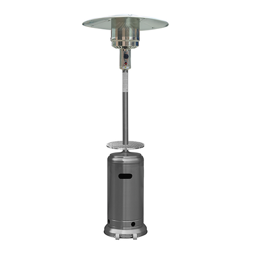 Tall Patio Heater with Tabletop/Door