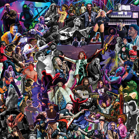 5 Year Anniversary Collage Poster