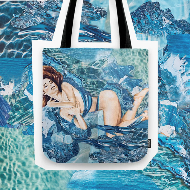 Water Splash Tote