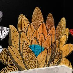 Boran Thai Kitchen Mural