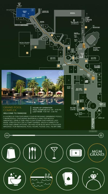 MGM WayFinder Redesign