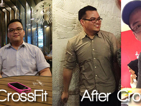 """At first it seemed impossible for someone my size and weight to do CrossFit""."