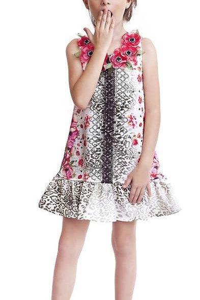 Vestido Luluzinha Flores