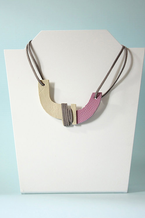 """Unity"" In Wise Grey Neckpiece"