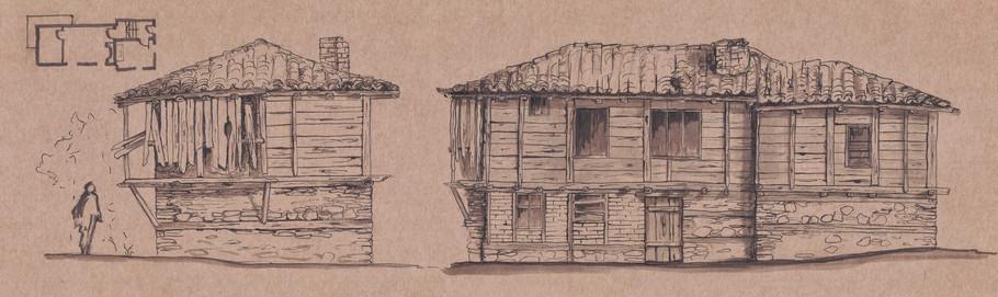 Къща в с. Заберново