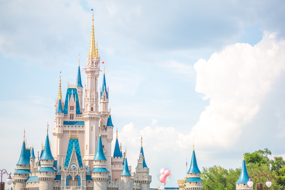 A Disney World Color Study!
