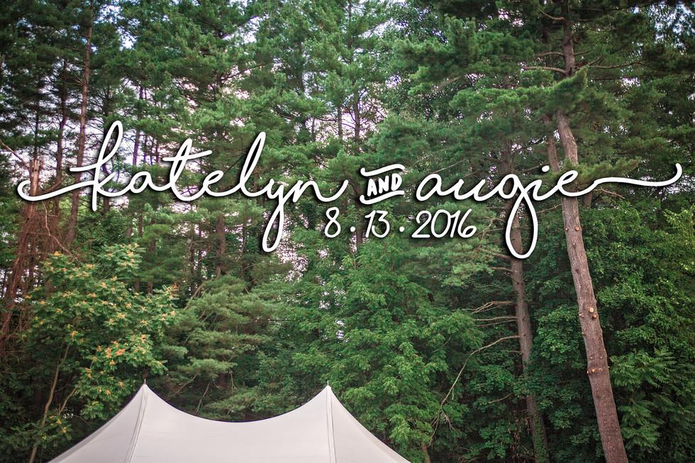 Katelyn & Augie   Turners Falls, MA Backyard Wedding