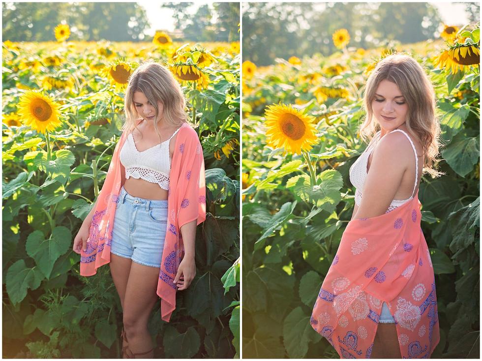 Sunflower Maze   Camillus, NY   Syracuse Photographer