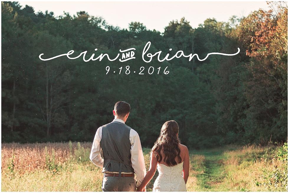 Erin & Brian   Stone Church, Cragsmoor, NY   Syracuse NY Photographer