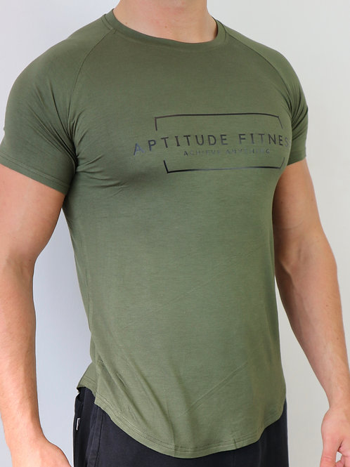 Olive Green Athlete Fit Top