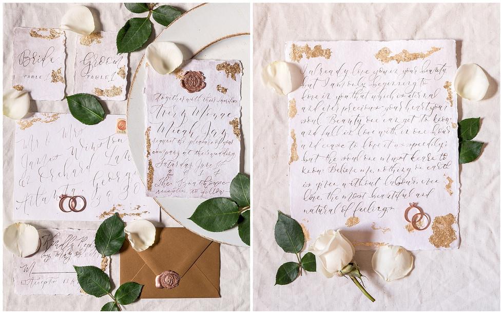 Custom Invitations By Harper Ink Calligraphy | Syracuse Wedding Photographer