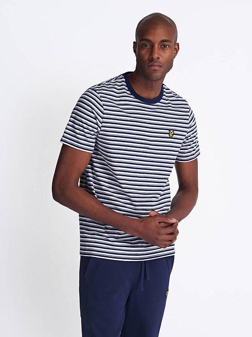 Stripe T-Shirt-Navy