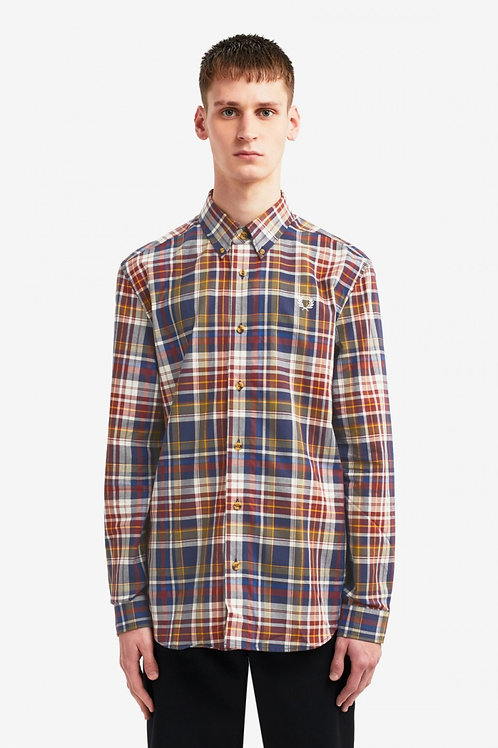 Tartan Shirt-Navy