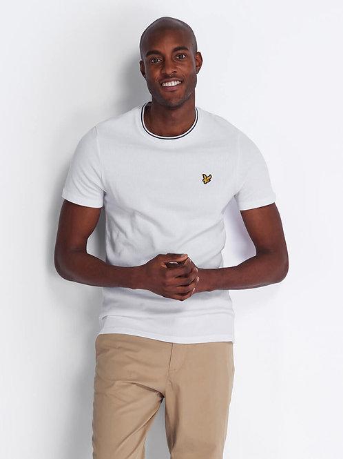 Waffle T-Shirt-White
