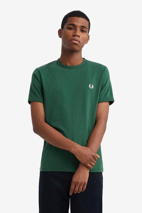 Ringer T Shirt-Ivy