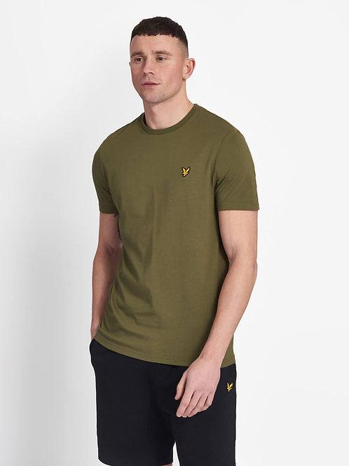 Crew Neck T-Shirt-Licher Green