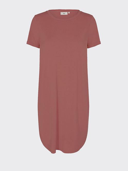 Larah Short Dress-Marsala