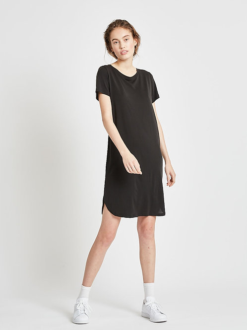 Larah Short Dress-Black