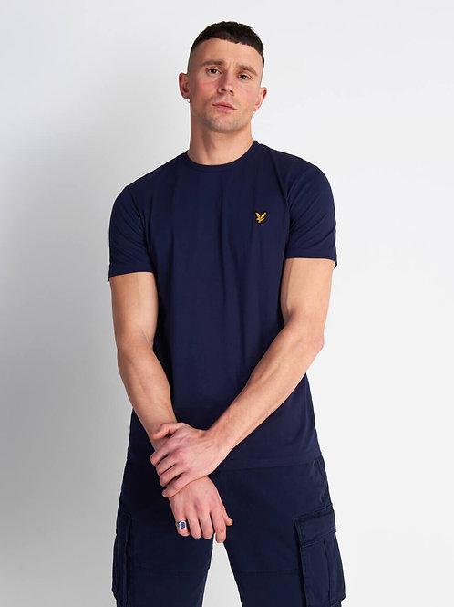 Crew Neck T-Shirt-Navy