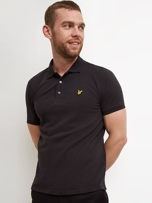Polo Shirt-True Black