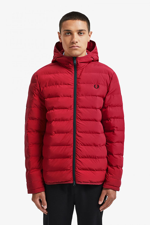 Insulated Hooded Jacket-Siren