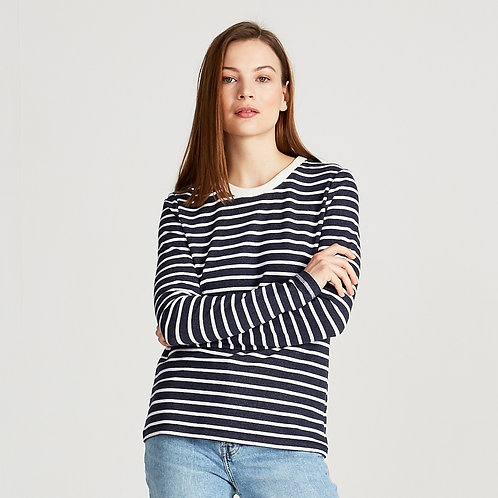 Julika-Blue/White (Stripes)