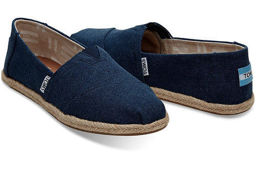 Classic Espadrilles-Navy Washed