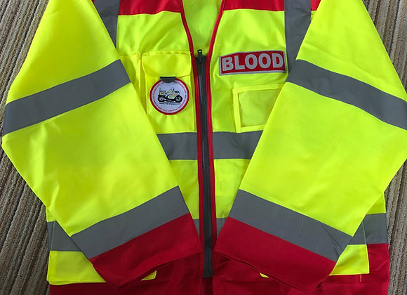 Hi-Viz Blood Bike Vest